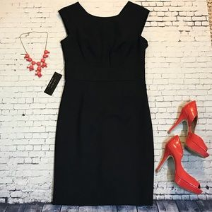 NWT Navy Blue fitted dress, The Limited